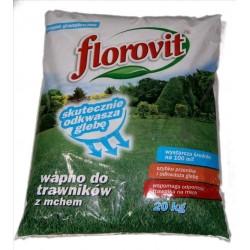 Wapno do trawników z mchem Florovit 20kg